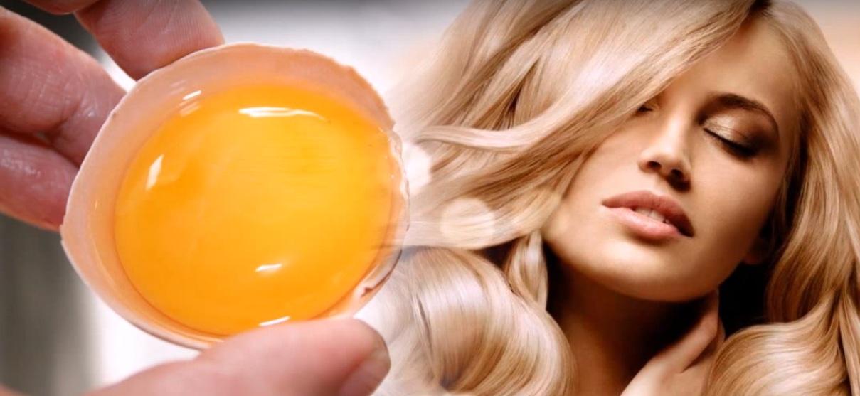 яичная маска для волос