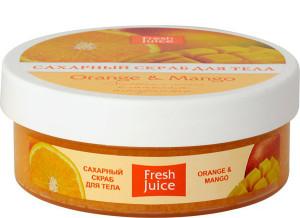 скраб для тела Fresh Juice «Orange Mango»