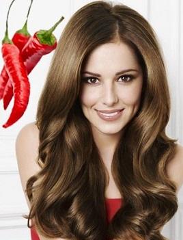 Жгучий красный перец для волос