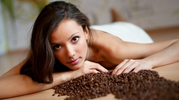 Скраб с кофе и солью