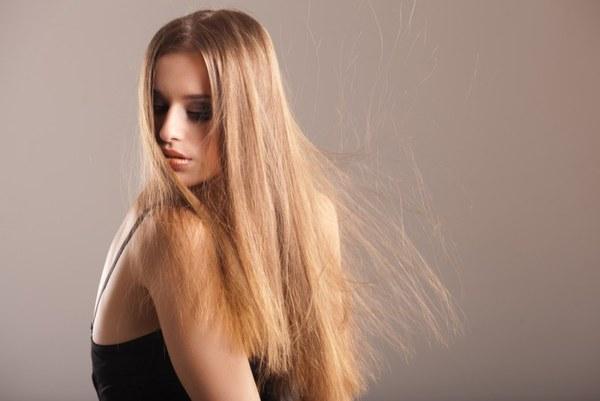 Маска от электризации волос зимой