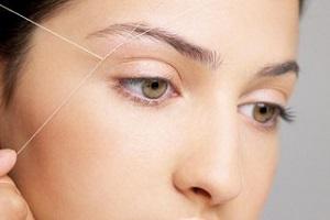 Тридинг - удаление волос ниткой