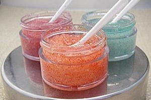 Сахарный скраб для губ
