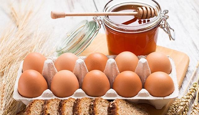 Мёд и яйца