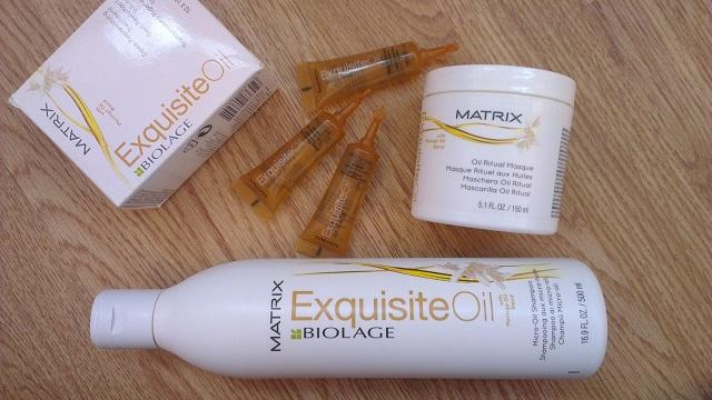 Масло для волос Матрикс Биолаж, маска и шампунь