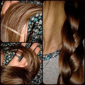 Результаты применения - фото волос