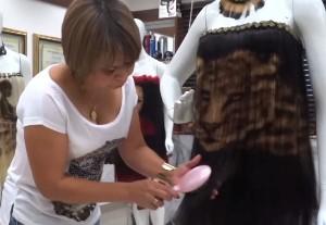 Одежда из волос - Бразилия, Мария Рита