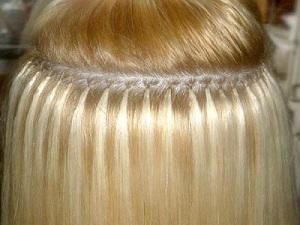 Наращивание волос на кольца