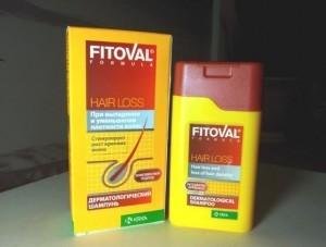 Fitoval - шампунь для укрепления волос от выпадения
