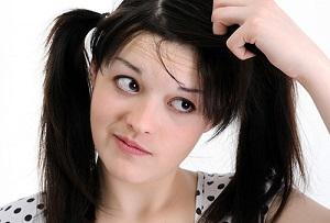 Симптомы грибка кожи головы