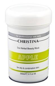 Яблочная маска Christina