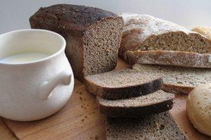 Кефир и хлеб