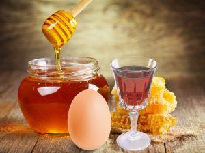С коньяком и мёдом