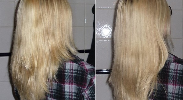Фото волос после оливкового масла
