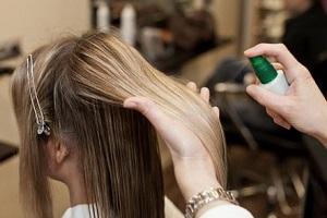 Пантенол для волос в форме спрея