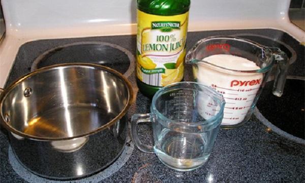 Варить шугаринг с лимонной кислотой нужно из этих компонентов