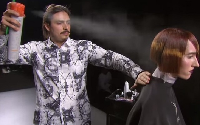 Техника пиксельного окрашивания волос