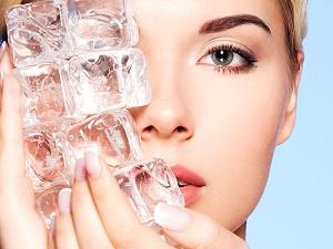 Лед для здоровья кожи